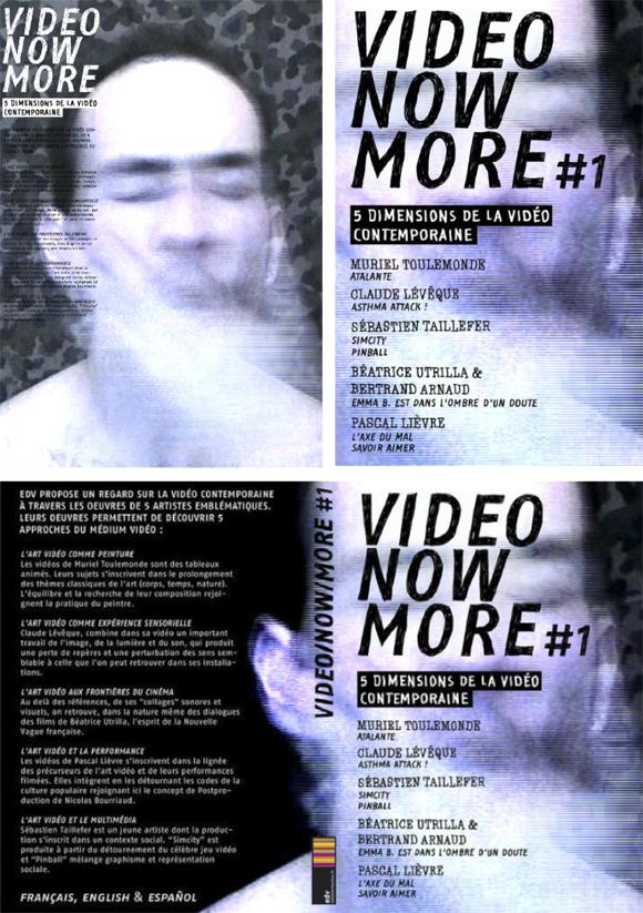 Lancement du DVD VideoNowMore#1/ vernissage vendredi 8 avril – Les Abattoirs (Toulouse)